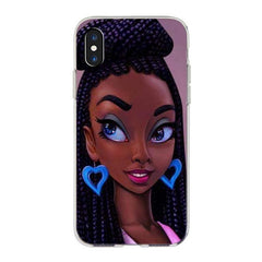 Melanin Queens iPhone Cases - Being Cute