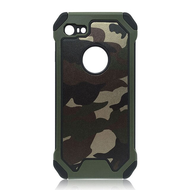 Military Army Camouflage Shockproof iPhone Cases
