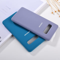Silicone Soft-Touch Protective Case for Samsung Galaxy