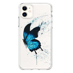 Silicone Butterfly Cases for iPhones