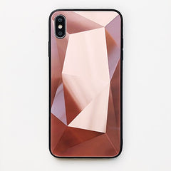 Diamond Mirror Shockproof iPhone Ultra Thin Case - Rose Pink