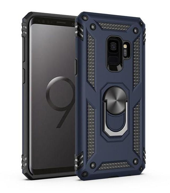 Shockproof Armor Bumper Cases For Samsung Galaxy - Blue