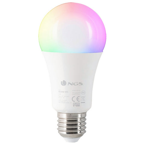 Smart-Lampa NGS Gleam727C RGB LED E27 7W
