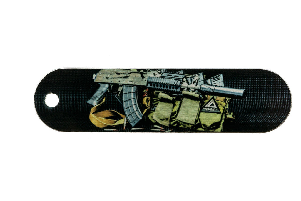 AK 47 Tactical Tag