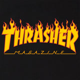 Thrasher Flame Logo Tee (Black)