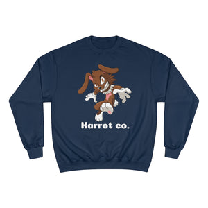 Karrot co. Rabid Rabbit Crewneck