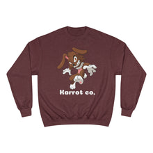 Load image into Gallery viewer, Karrot co. Rabid Rabbit Crewneck