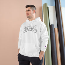 Load image into Gallery viewer, Endago White logo Champion Hoodie