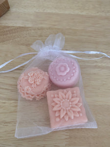 Pretty Orange Soap - Set of 3