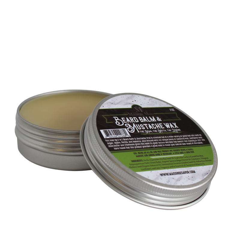 Man Up Beard Balm & Mustache Wax (2 in one)