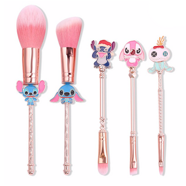 Lilo & Stitch Makeup Brush 5 Piece Set