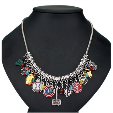 Marvel Charm Necklace