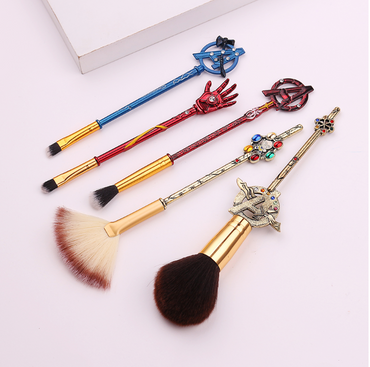 Avengers Makeup Brush 5 Piece Set
