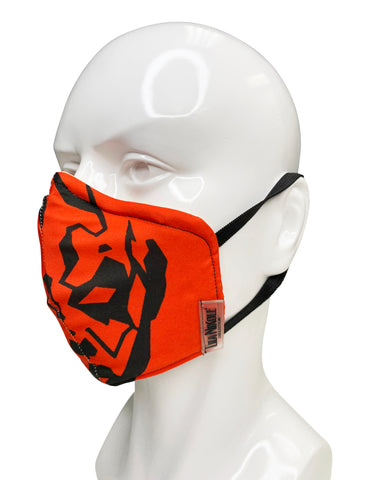 Darth Maul Silhouette Face Mask