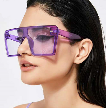 Grape Oversized Sunnies