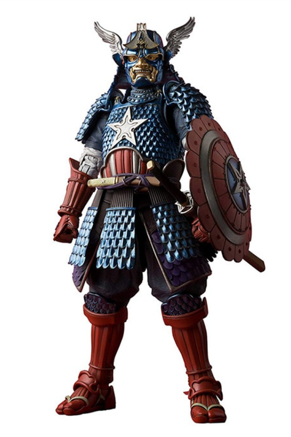 Samurai Captain America Action Figure