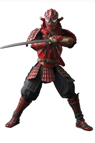 Samurai Spider Man Action Figure