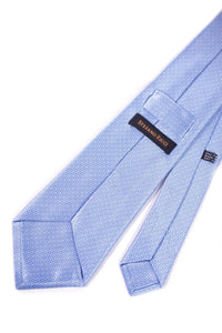 STEFANO RICCI Tie light blue pattern