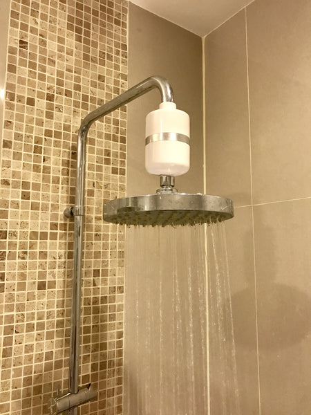 berkey shower filter with uk europe fitting for all showers berkey. Black Bedroom Furniture Sets. Home Design Ideas
