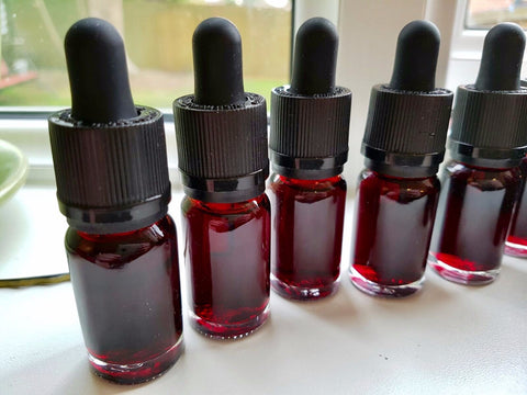 Artificial USA Red Food Colouring - For testing the Black Berkey Filters