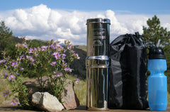Go Berkey Kit + Sport Bottle + Primer