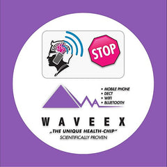 Waveex Mobile Chip protection against cell phone radiation. EU approved & Proven new product.