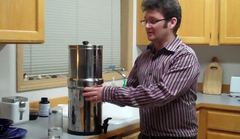 Travel Berkey system (smaller version of Big Berkey)