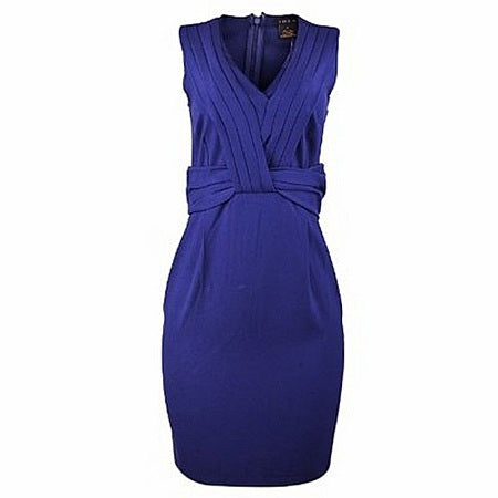 Convington Women Sleeveless a line Dress