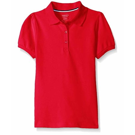 French Toast Girls  Short Sleeve Polo Shirt