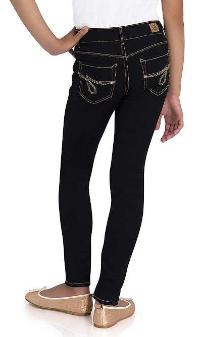 Jordache Girl's Super Skinny Jeans with Adjustable Waist