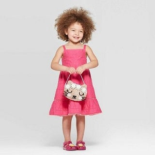 Cat & Jack- Pink Toddler Girls' Schiffley A-Line Dress