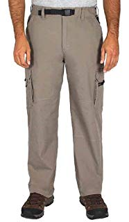 BC Clothing Men's Convertible Lightweight Cargo Pants