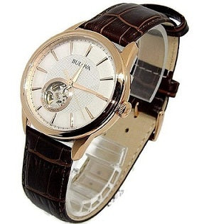 Bulova Men's Rose-Gold Stainless Steel Automatic Watch
