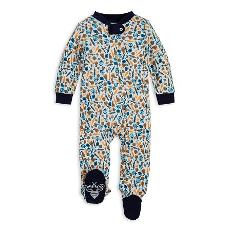 Harvest Veggies Organic Baby Boy Sleep & Play Pajamas