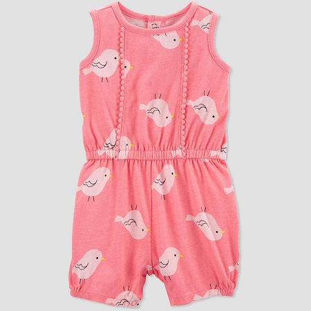 Carter's Baby Girls' Bird One Piece Romper