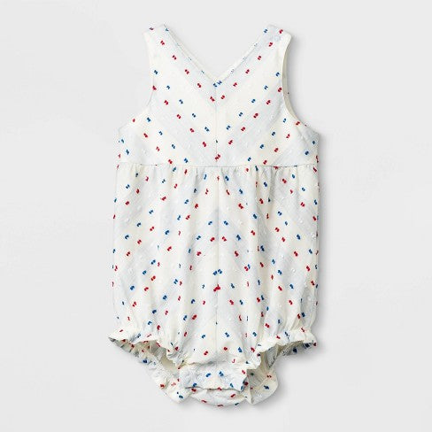 Cat & Jack Baby Girls' V-Neck Sleeveless Romper