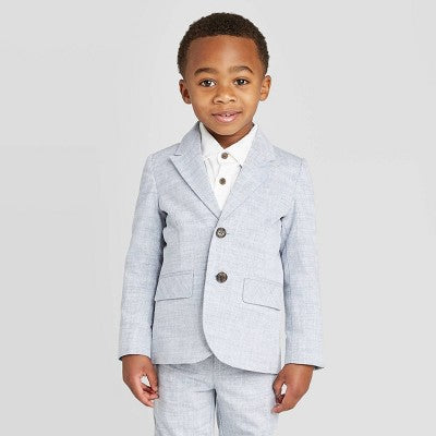 Cat & Jack Toddler Boys' Classic Chambray Blazer