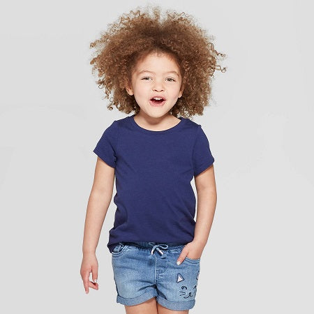 Cat & Jack Baby Girls' Short Sleeve T-Shirt