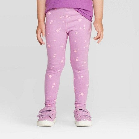 Cat & Jack Toddler Girls' Star Leggings