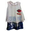 Grand Baby Girl Chiffon Dress