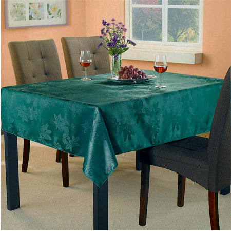Essentialhome Fabric Tablecloth Damask - Green
