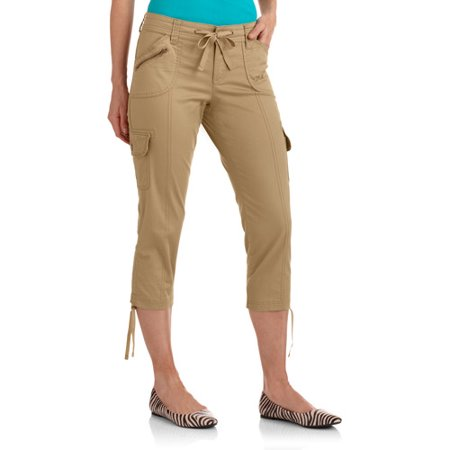 Faded Glory Women's Cargo Capri