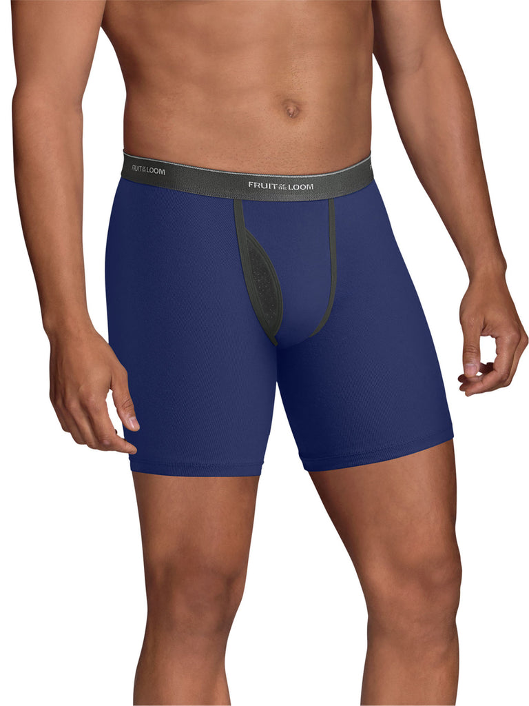Fruit of the Loom 6 Tag-Free Boxer Briefs - Coolzone Fly