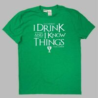Men's Game of Thrones I Drink And I Know Things Short Sleeve Graphic T-Shirt
