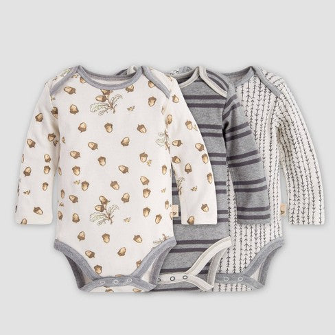 Burt's Bees Baby Organic Cotton Long Sleeve Bodysuit
