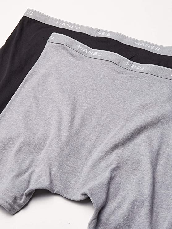 Hanes 6 Tagless Boxer Briefs - Comfortsoft