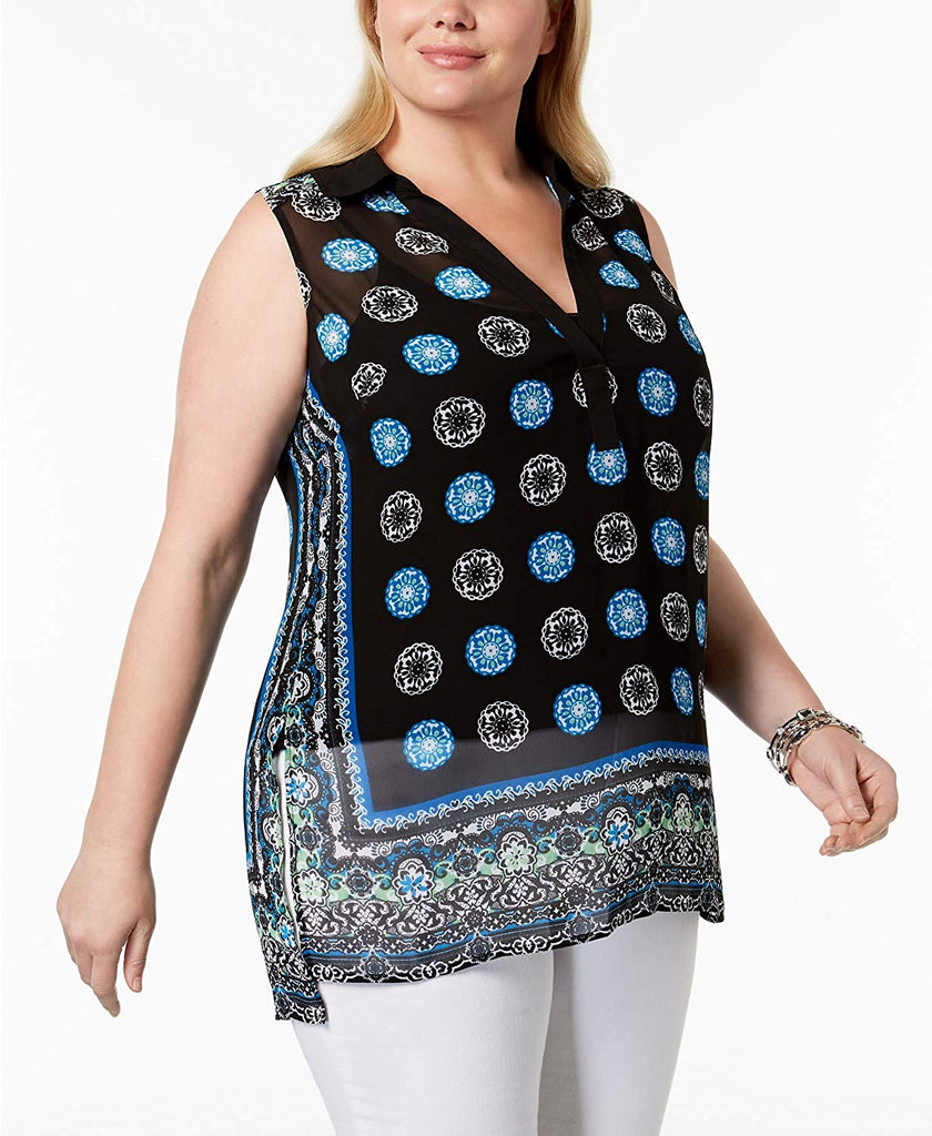 Inc International Concepts Plus Size High-Low Tunic