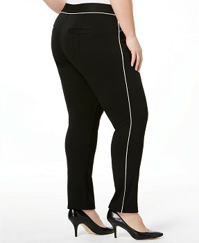 INC International Concepts Plus Size Piped Pants