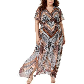 Inc International Concepts Plus Women's Maxi Dress