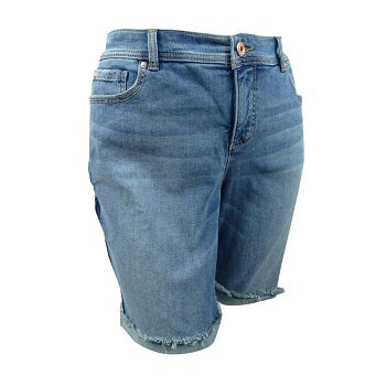 INC International Concepts Plus Size Denim Shorts